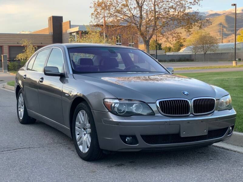 2007 BMW 7 Series for sale at A.I. Monroe Auto Sales in Bountiful UT