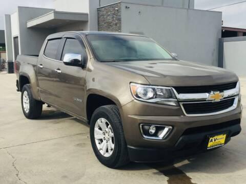 2016 Chevrolet Colorado for sale at A & V MOTORS in Hidalgo TX