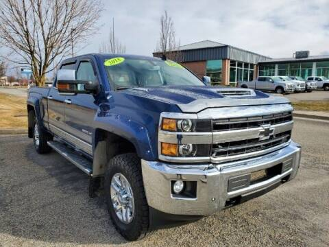2018 Chevrolet Silverado 3500HD for sale at Group Wholesale, Inc in Post Falls ID