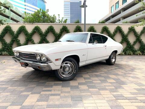 1968 Chevrolet Chevelle for sale at ROGERS MOTORCARS in Houston TX