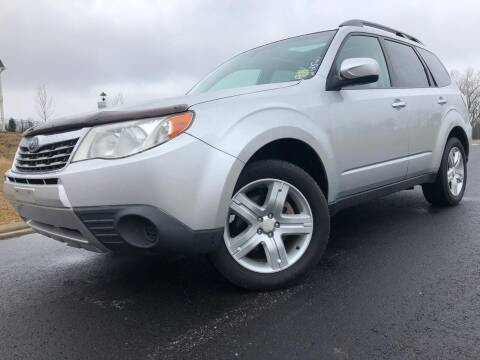 2010 Subaru Forester for sale at El Camino Auto Sales in Sugar Hill GA