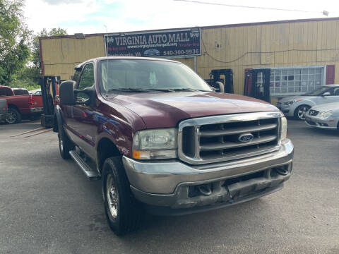 2004 Ford F-250 Super Duty for sale at Virginia Auto Mall in Woodford VA