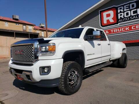 2016 GMC Sierra 3500HD for sale at Red Rock Auto Sales in Saint George UT