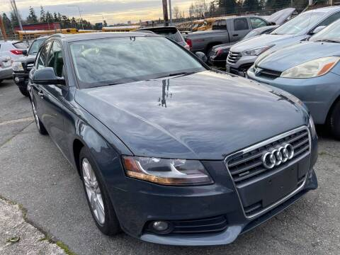 2009 Audi A4 for sale at SNS AUTO SALES in Seattle WA