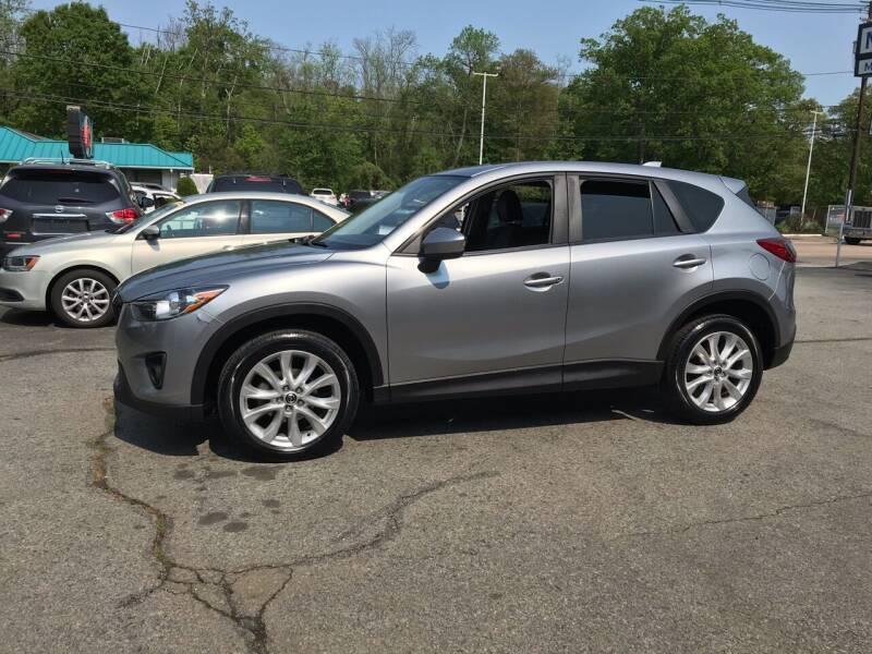 2014 Mazda CX-5 for sale at M G Motors in Johnston RI