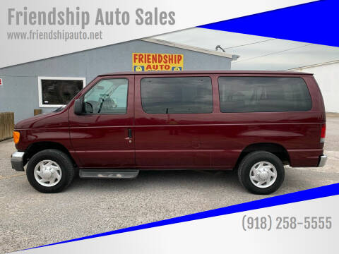 2006 Ford E-Series Wagon for sale at Friendship Auto Sales in Broken Arrow OK