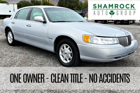 2002 Lincoln Town Car for sale at Shamrock Group LLC #1 in Pleasant Grove UT