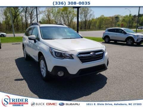 2018 Subaru Outback for sale at STRIDER BUICK GMC SUBARU in Asheboro NC