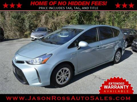 2017 Toyota Prius v for sale at Jason Ross Auto Sales in Burlington NC