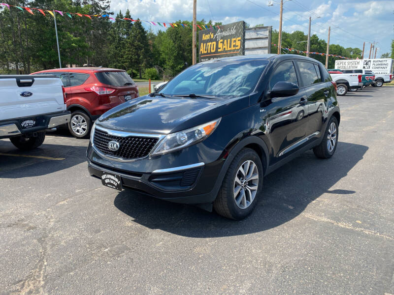 2015 Kia Sportage for sale at Affordable Auto Sales in Webster WI