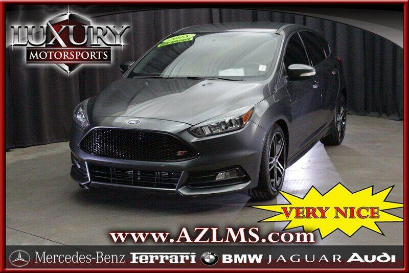 2018 Ford Focus for sale at Luxury Motorsports in Phoenix AZ