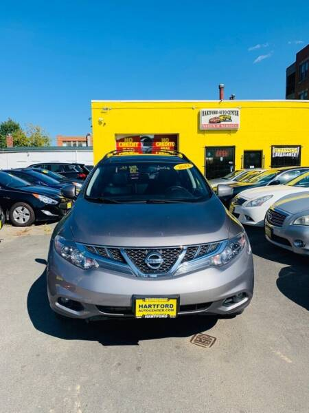 2012 Nissan Murano for sale at Hartford Auto Center in Hartford CT
