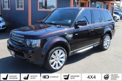 2012 Land Rover Range Rover Sport for sale at Sabeti Motors in Tacoma WA