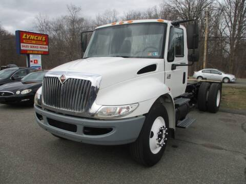 2002 International 4400 for sale at Lynch's Auto - Cycle - Truck Center in Brockton MA