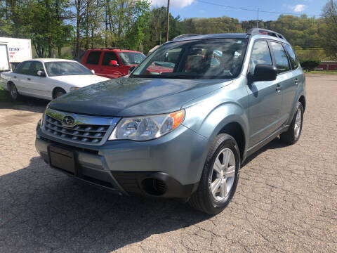 2012 Subaru Forester for sale at Used Cars 4 You in Serving NY