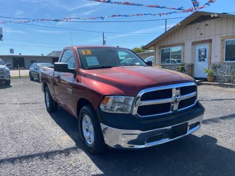 2013 RAM Ram Pickup 1500 for sale at The Trading Post in San Marcos TX