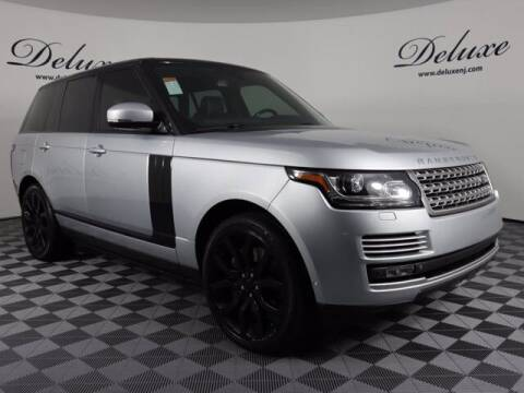 2015 Land Rover Range Rover for sale at DeluxeNJ.com in Linden NJ