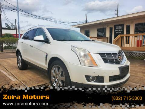 2010 Cadillac SRX for sale at Zora Motors in Houston TX