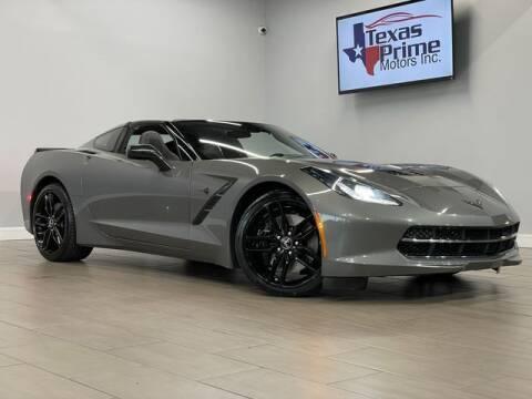 2015 Chevrolet Corvette for sale at Texas Prime Motors in Houston TX