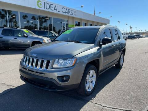 2012 Jeep Compass for sale at Ideal Cars Atlas in Mesa AZ