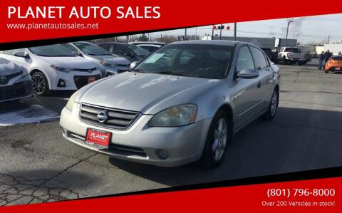 2003 Nissan Altima for sale at PLANET AUTO SALES in Lindon UT
