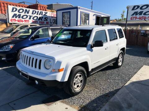 2014 Jeep Patriot for sale at DON DIAZ MOTORS in San Diego CA