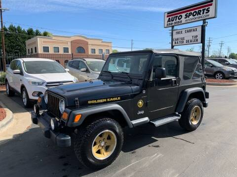2006 Jeep Wrangler for sale at Auto Sports in Hickory NC