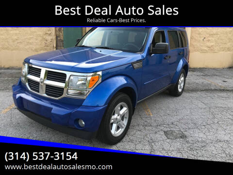 2007 Dodge Nitro for sale at Best Deal Auto Sales in Saint Charles MO
