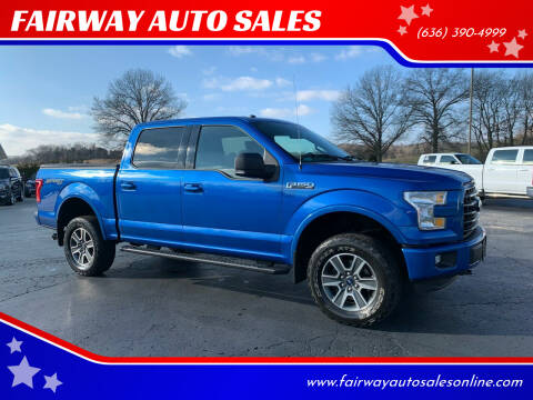 2016 Ford F-150 for sale at FAIRWAY AUTO SALES in Washington MO
