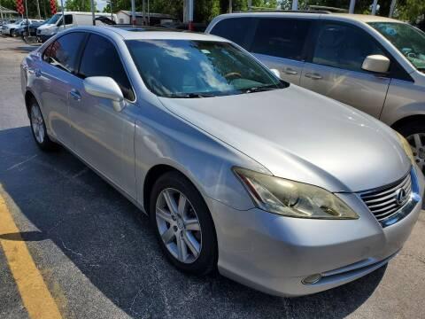 2008 Lexus ES 350 for sale at America Auto Wholesale Inc in Miami FL