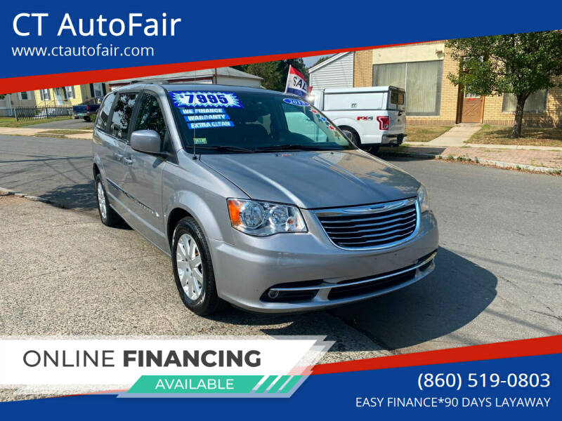 2013 Chrysler Town and Country for sale at CT AutoFair in West Hartford CT