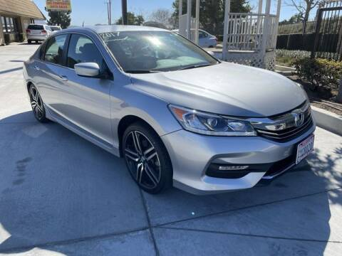 2017 Honda Accord for sale at Los Compadres Auto Sales in Riverside CA