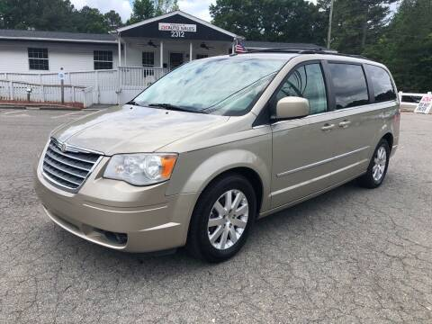 2009 Chrysler Town and Country for sale at CVC AUTO SALES in Durham NC