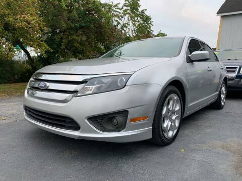 2010 Ford Fusion for sale at Waltz Sales LLC in Gap PA