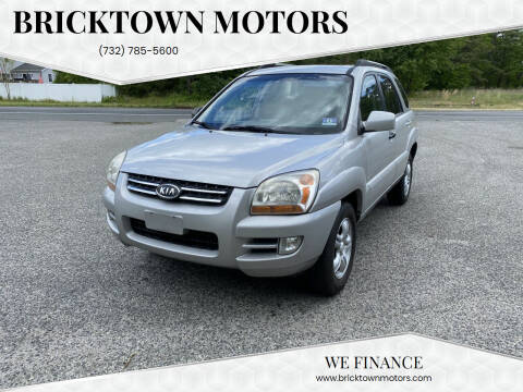 2007 Kia Sportage for sale at Bricktown Motors in Brick NJ