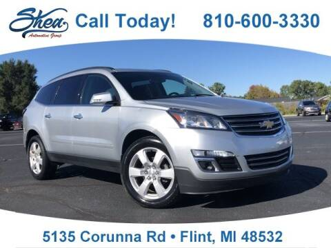 2017 Chevrolet Traverse for sale at Jamie Sells Cars 810 - Linden Location in Flint MI