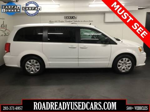 2014 Dodge Grand Caravan for sale at Road Ready Used Cars in Ansonia CT