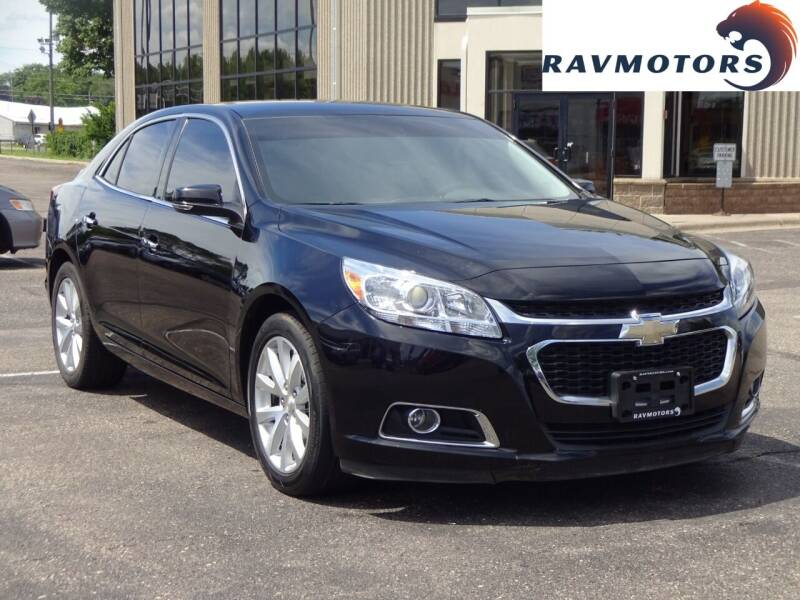 2016 Chevrolet Malibu Limited for sale at RAVMOTORS 2 in Crystal MN