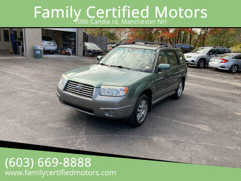 2006 Subaru Forester for sale at Family Certified Motors in Manchester NH