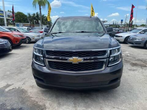 2015 Chevrolet Suburban for sale at America Auto Wholesale Inc in Miami FL