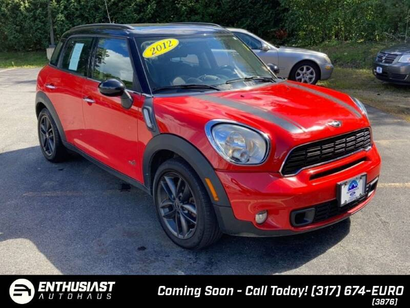 2012 MINI Cooper Countryman for sale at Enthusiast Autohaus in Sheridan IN