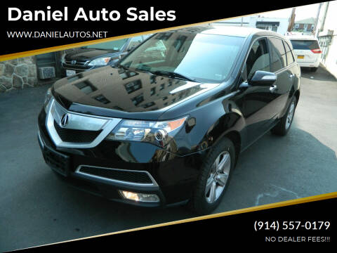 2011 Acura MDX for sale at Daniel Auto Sales in Yonkers NY