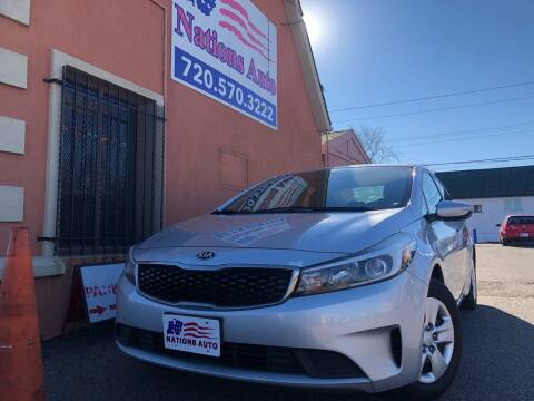 2017 Kia Forte for sale at Nations Auto Inc. II in Denver CO