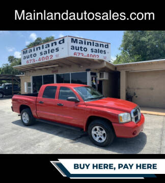 2007 Dodge Dakota for sale at Mainland Auto Sales Inc in Daytona Beach FL