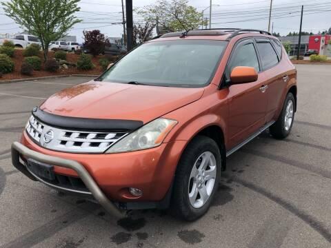2005 Nissan Murano for sale at South Tacoma Motors Inc in Tacoma WA