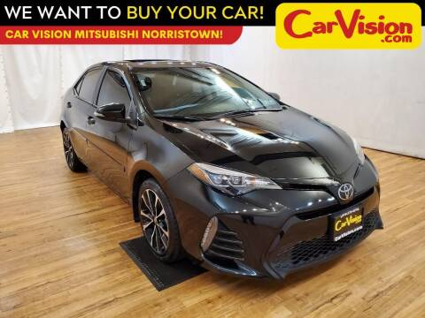 2019 Toyota Corolla for sale at Car Vision Mitsubishi Norristown in Trooper PA