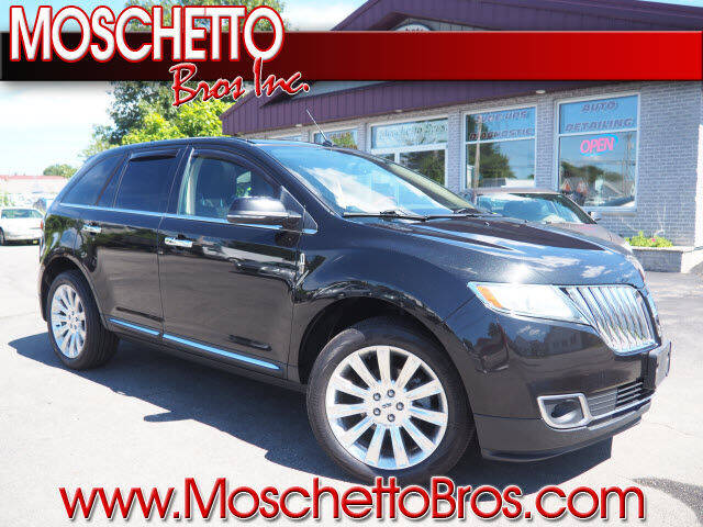 2015 Lincoln MKX for sale at Moschetto Bros. Inc in Methuen MA