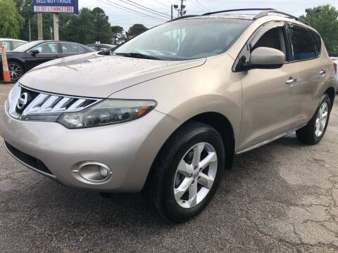 2009 Nissan Murano for sale at Capital Motors in Raleigh NC