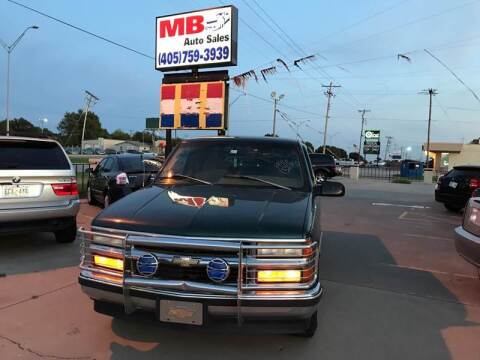 1996 Chevrolet C/K 1500 Series for sale at MB Auto Sales in Oklahoma City OK