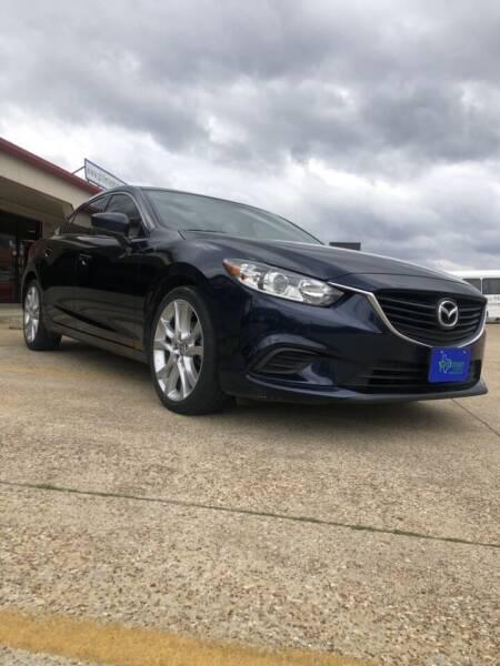 2017 Mazda MAZDA6 for sale at PITTMAN MOTOR CO in Lindale TX